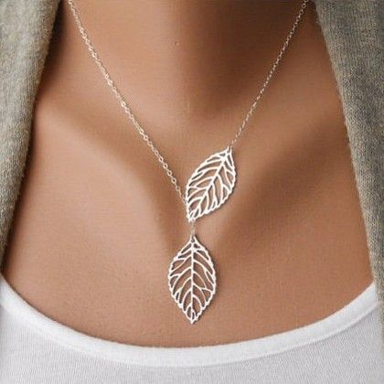 Simple Two Leaves Shape Women Necklace #jewelry #fashionjewelrystores #jewelryfashion #fashionjewelrywebsites #discountfashionjewelry #fashioncostumejewelry #goldfashionjewelry #fashionjewelrystore #fashionjewelryaccessories #fashionjewelrysets #trendyfashionjewelry #newfashionjewelry #fashionjewelryearrings #fashionandjewelry #fashionjewelrymanufacturers #mensfashionjewelry #buyfashionjewelry #jewelryinfashion #highfashionjewelry #costumefashionjewelry #bestfashionjewelry…