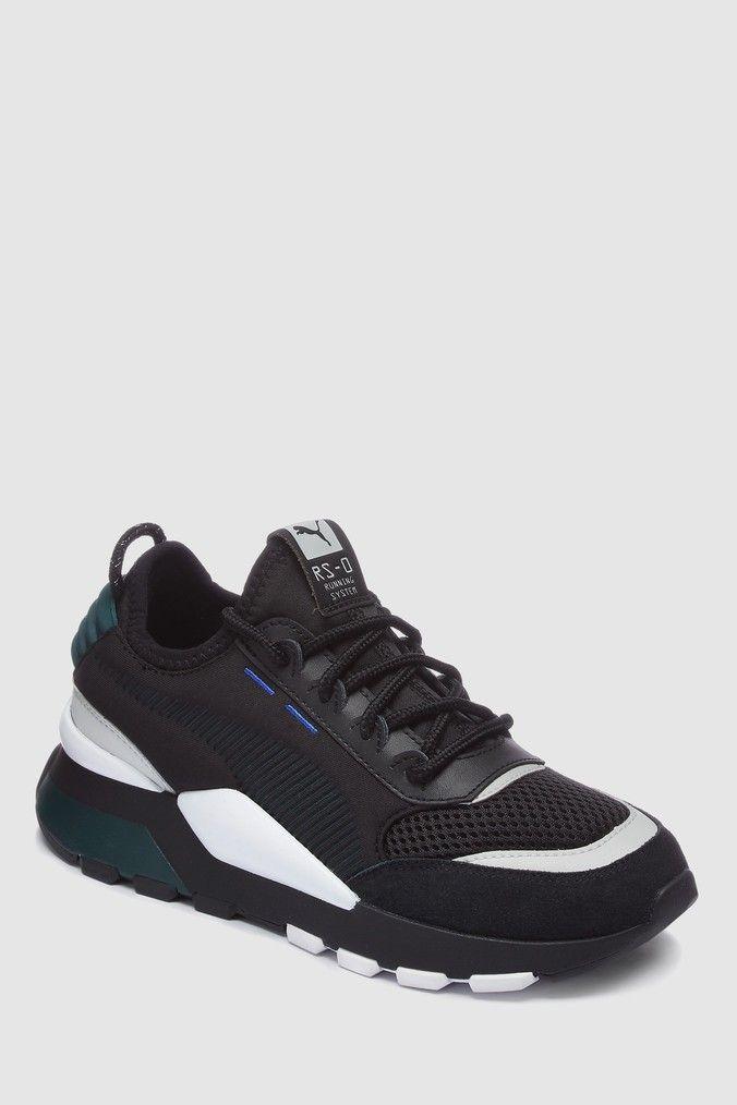 Boys Puma RS0 Junior Trainer Black | Puma, Trainers, Shoe