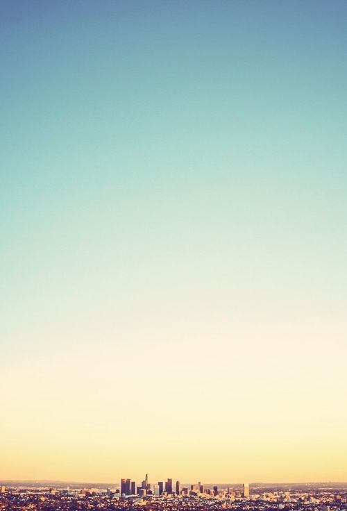 "LA Blue Skies, or the best ""Hollywood view"". Pin It To Win It: https://docs.google.com/forms/d/1-p7ci16H2KQkNgoJ9Q8HDXW3UQkf-BML8qTUVCr5HOc/viewform"