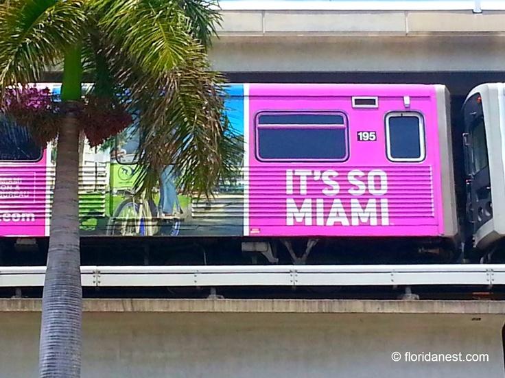 Metrorail - Florida's only rapid transit metro system (Miami, Florida)