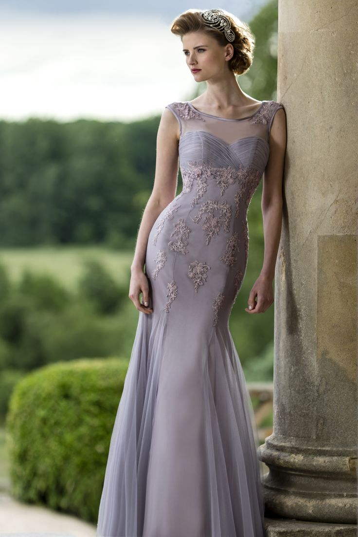 beautiful tulle bridesmaid gown from true bride 2015 collection, gorgeous! Style M589 #bridesmaiddress