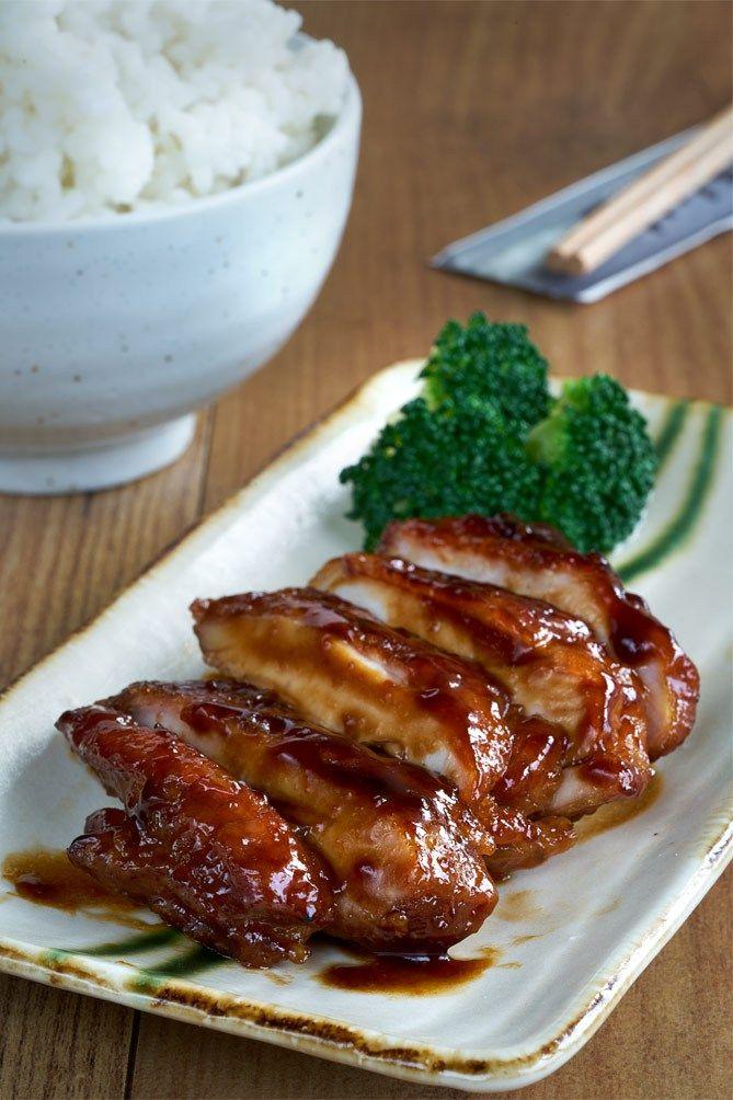 Pollo teriyaki, cocina japonesa,                                                                                                                                                                                 Más