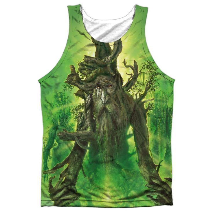 """Checkout our #LicensedGear products FREE SHIPPING + 10% OFF Coupon Code """"Official"""" Lor/treebeard -adult 100% Poly Tank T- Shirt - Lor/treebeard -adult 100% Poly Tank T- Shirt - Price: $24.99. Buy now at https://officiallylicensedgear.com/lor-treebeard-adult-100-poly-tank-shirt-licensed"""