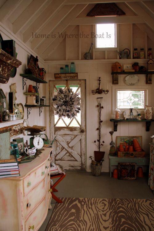Garden Sheds Inside 578 best garden sheds/inside of sheds images on pinterest