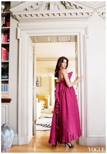 Stephanie Seymour Photo Arthur Elgort, Vogue, September 2007
