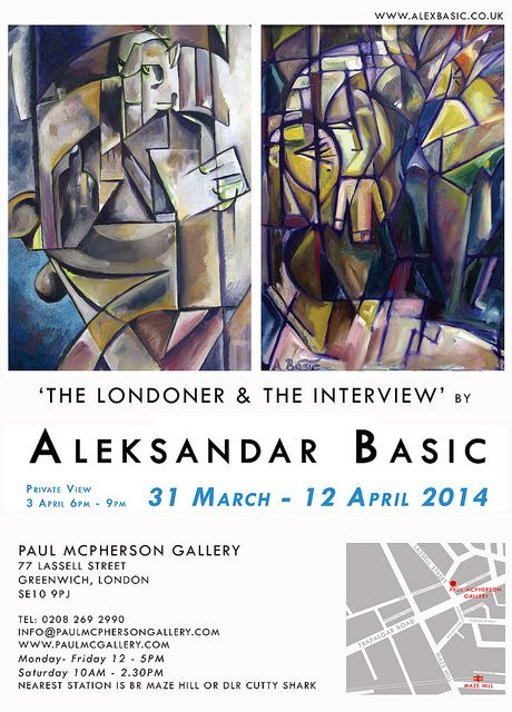 The Londoner and The Interview, Aleksandar Basic March to April 2014, Greenwich London