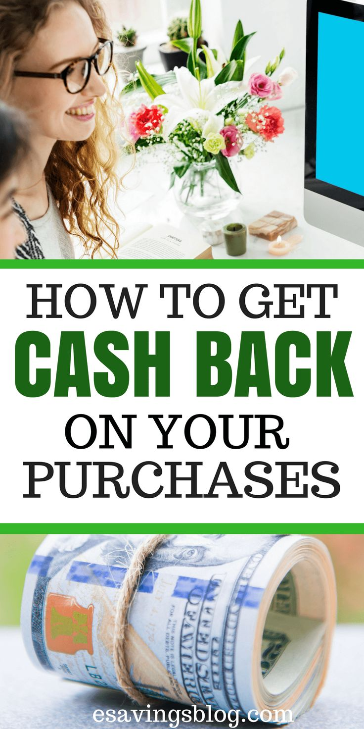 Get Cash Back on Your Online Purchases! Get Paid to Shop by utilizing these cashback programs.