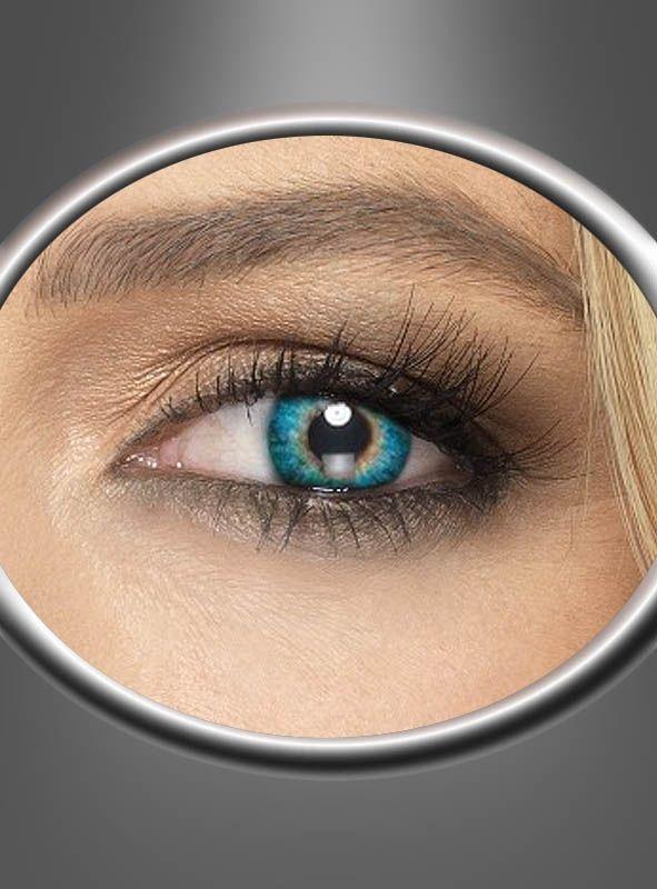 Grüne Kontaktlinsen Tageslinsen bei Kostümpalast.de