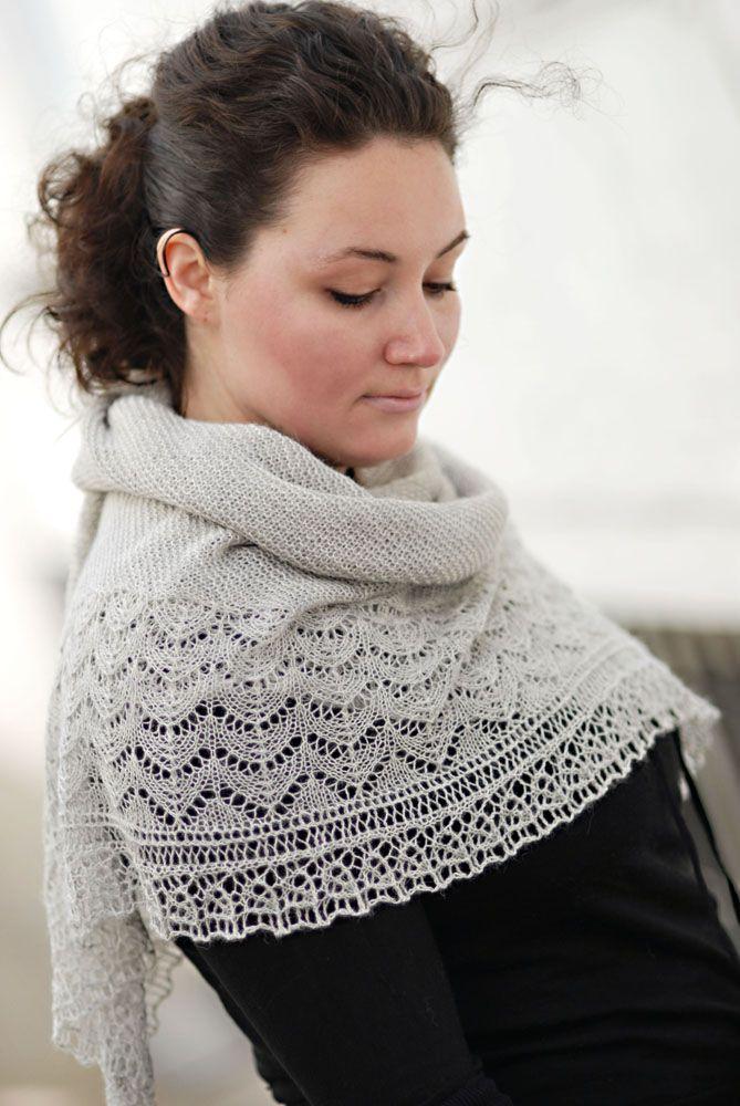 Bridgewater shawl from Brooklyn Tweed