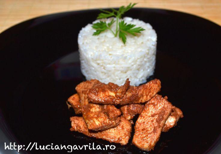 "Mild Tandoori Chicken      Pui tandoori ""soft"""