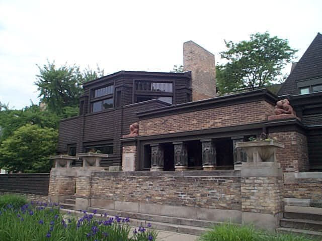 Frank Lloyd Wright Home And Studio 951 Chicago Avenue Oak Park IL Built