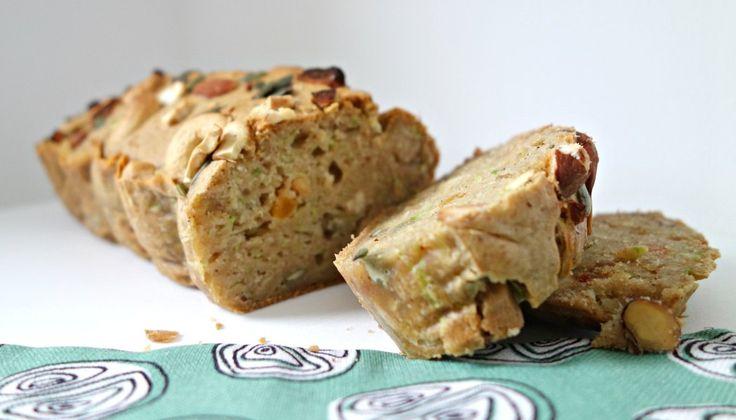 Gezond | Courgette-noten broodje