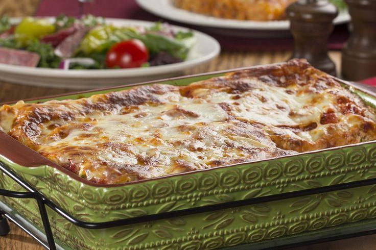 Meat Lover's Lasagna | MrFood.com
