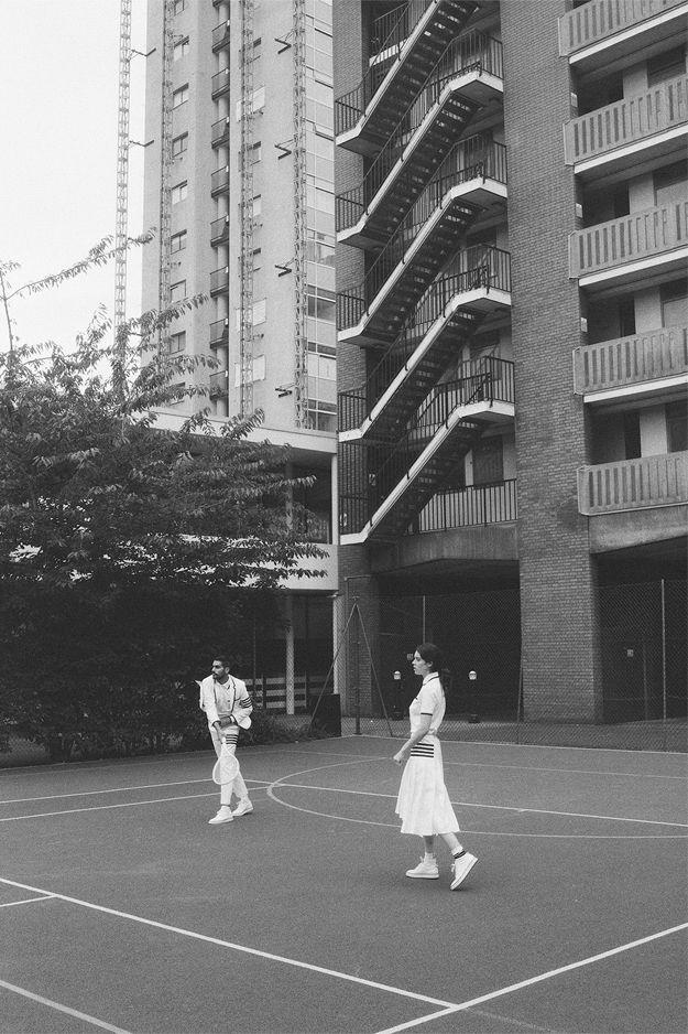 Как Серена Уильямс и Рафаэль Надаль: Коллекция Thom Browne для Уимблдона