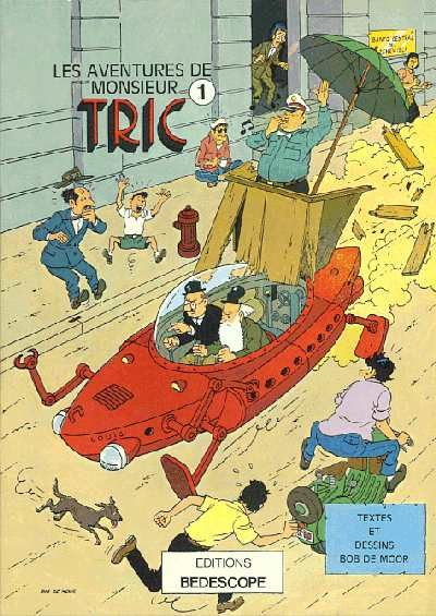 Monsieur Tric -1- La moto volante