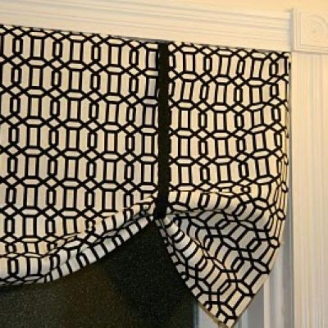 Curtains Ideas easy no sew curtains : No Sew Valance