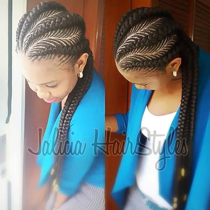 Braided Cornrow Hairstyles Checkoutthese Best Styles With Images
