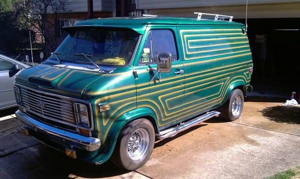 17+ best images about Classic old school custom vans on Pinterest | Cars, Chevy and Magazines