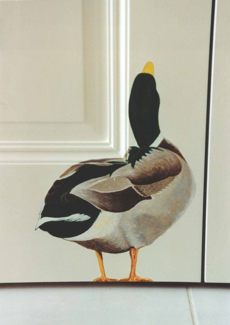 Duck Mural for a Paradise Valley Home by Doug Morris