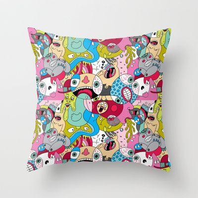 Seamless, Endless Throw Pillow by Chris Piascik - $20.00