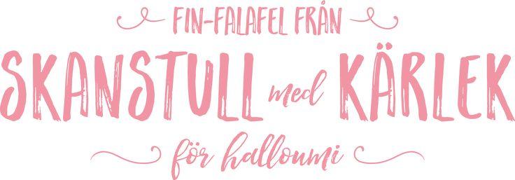 Fin-Falafel från Skanstull med hjärta för Halloumi