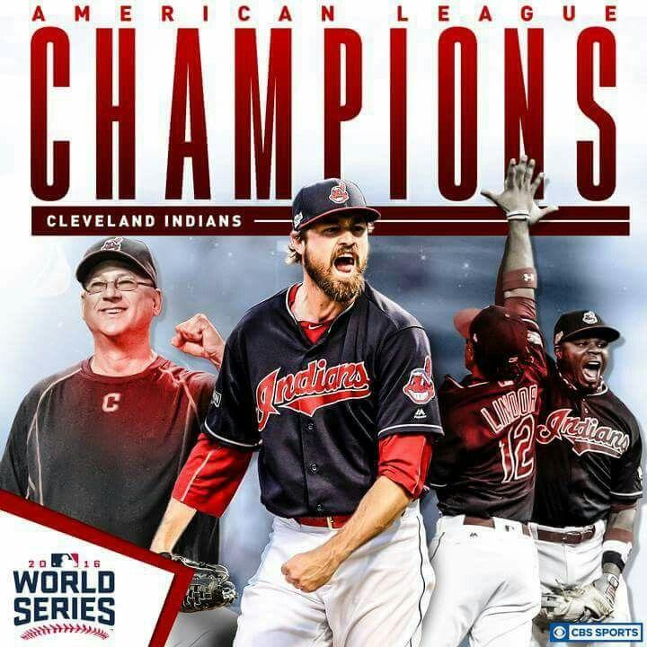 World Series Bound... #Cleveland #Indians⚾⚾⚾ #AmericanLeagueChampions. . #LoveMyTribe2016