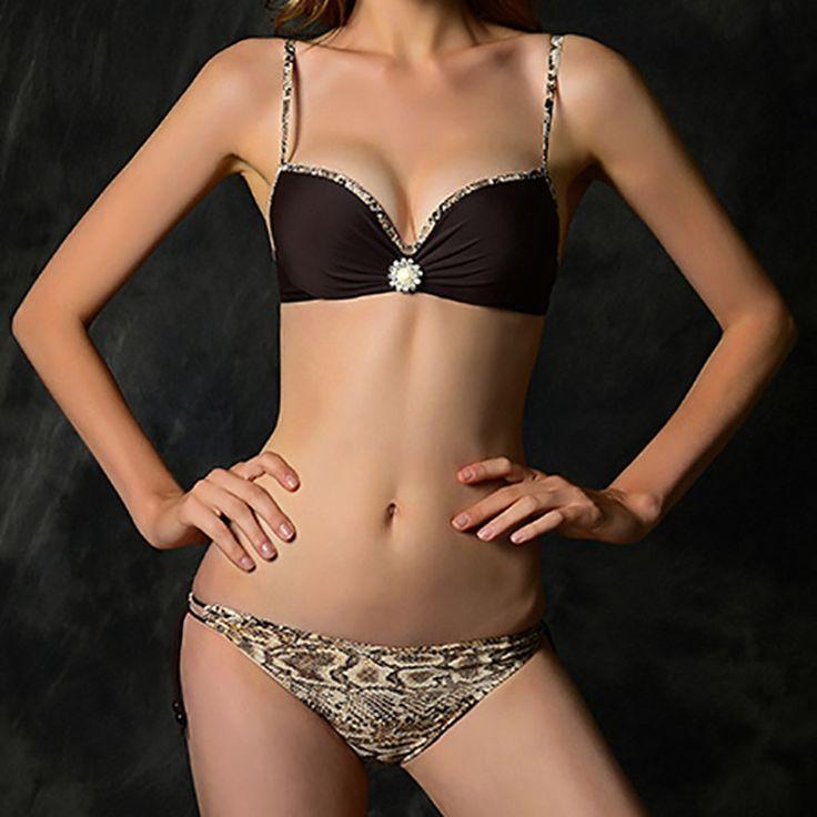 Sexy Women's Fashion Bikini Push-up Padded Bra Swimsuit  09