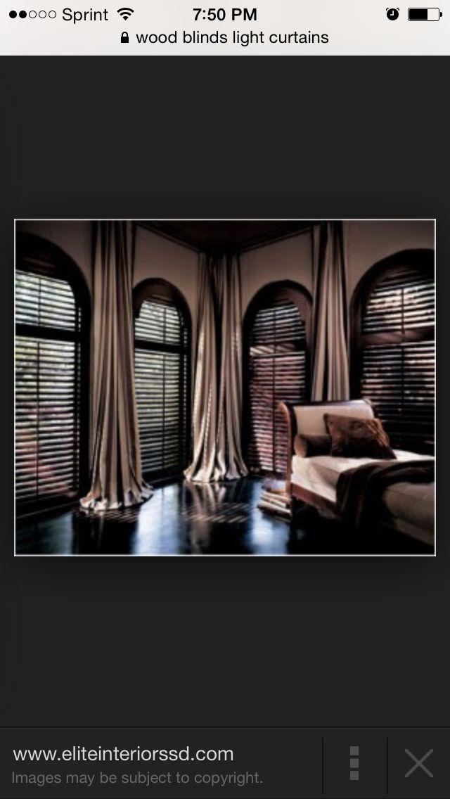 Dark Blinds Light Curtains Blindsdesignvalances Blinds Design