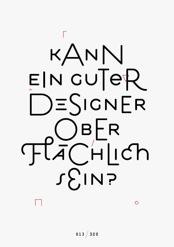 Designscheiß —Jan König explores the meaning of design with a syncopated Estilo.