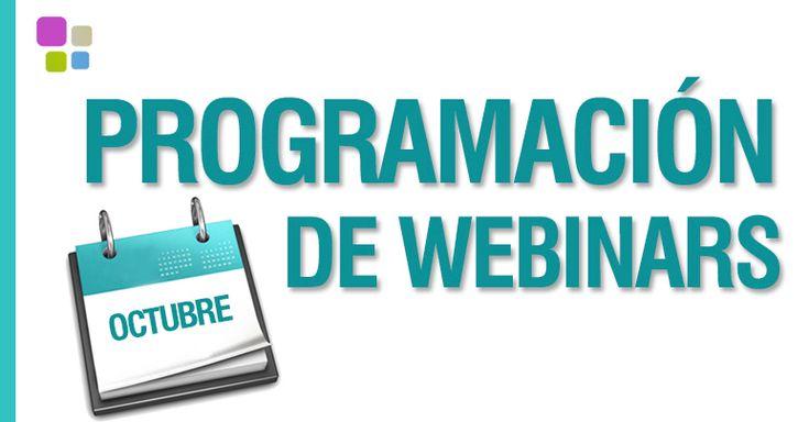 Agenda de webinars gratuitos en Octubre en #IEBS #formacion