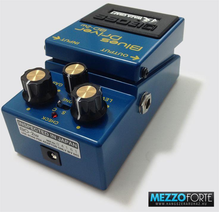 Boss BD-2W Waza Craft Blues gitár torzító pedál