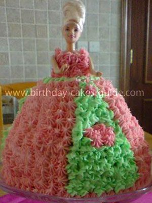 Best Doll Cakes Images On Pinterest Barbie Cake Doll Cakes - Birthday cake doll designs