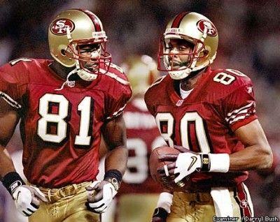 T.O. and Jerry Rice. 49ers NationNfl FootballAmerican FootballSports ArtSan  Francisco ...