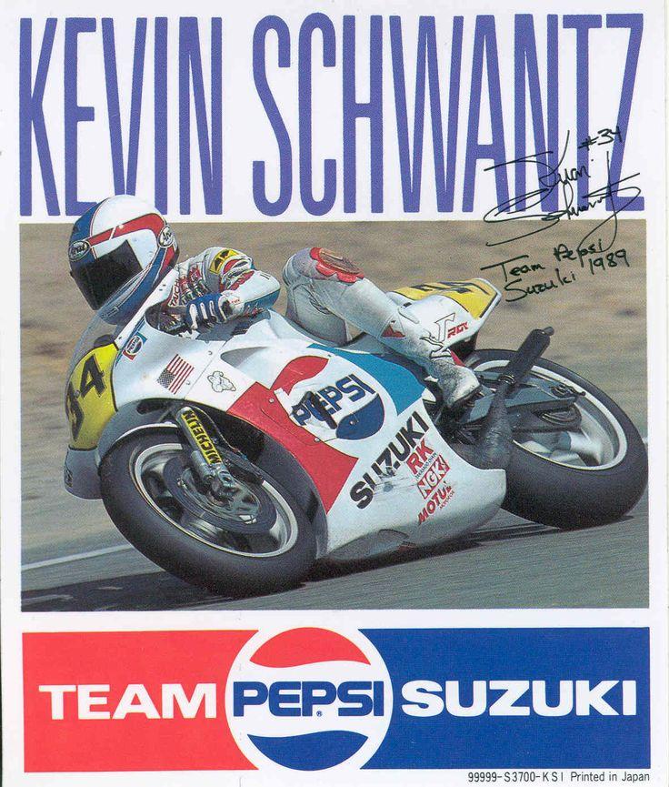 Suzuki RG500, Kevin Schwantz, Team Pepsi Suzuki