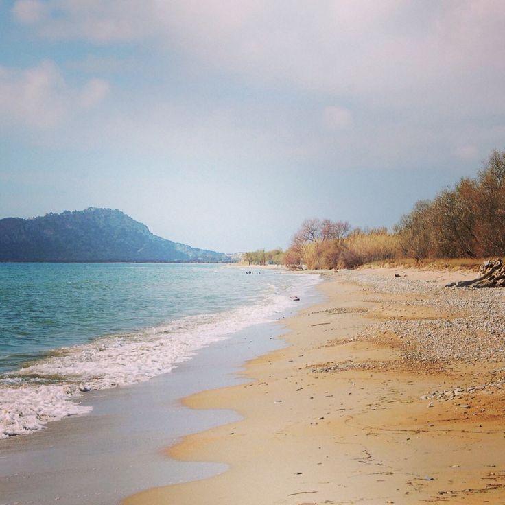 Gialova beach