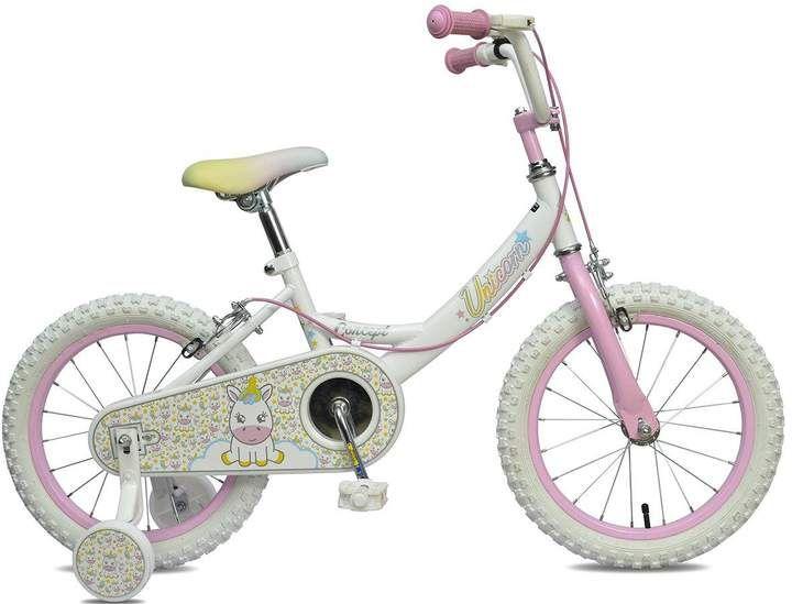 Concept Unicorn Girls Bike 16 Inch Wheel Enter A Magical World