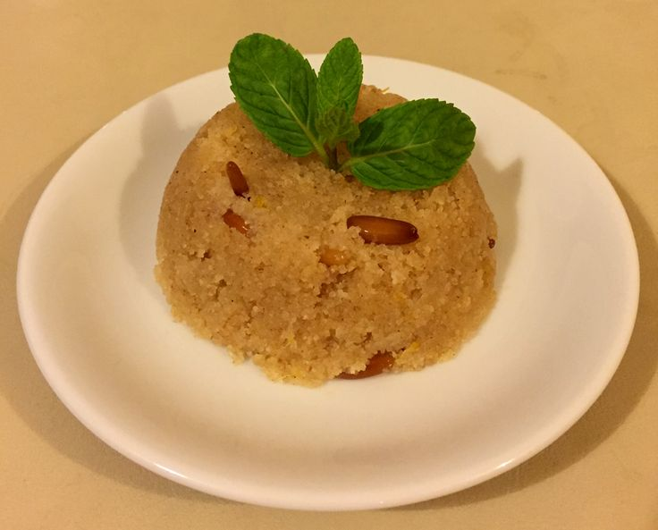 Our lighter (and healthier) recipe for semolina halva.