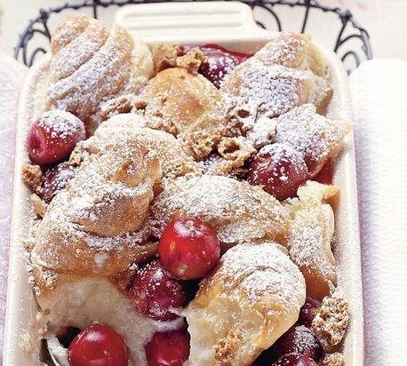 Fajnový nákyp s čerešňami - ovocná maškrta!
