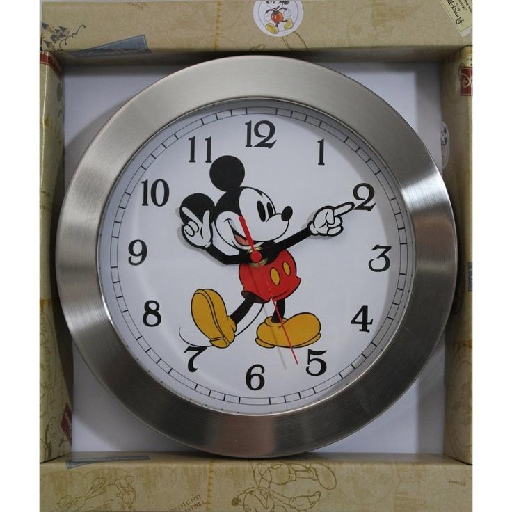 Best 25 mickey mouse clock ideas on pinterest for Bathroom clock ideas