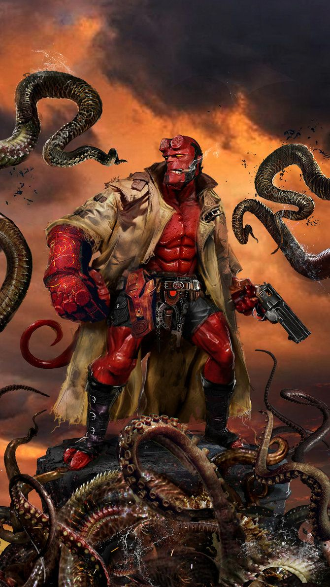 Hellboy by John Gallagher