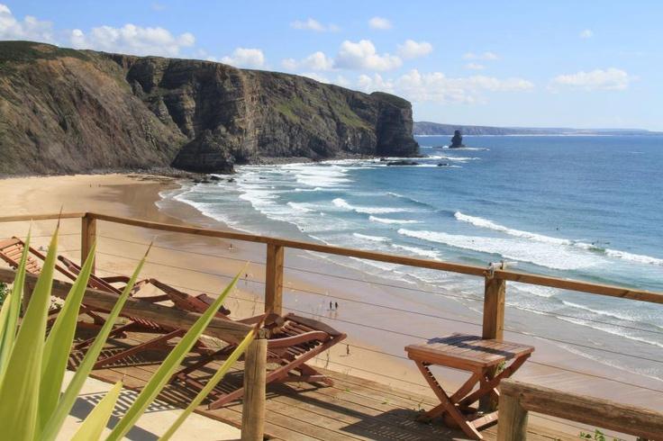 Praia da Arrifana, Aljezur. No queda nada!!