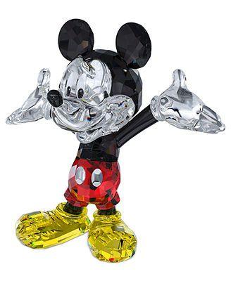 Swarovski Collectible Disney Figurine, Mickey Mouse