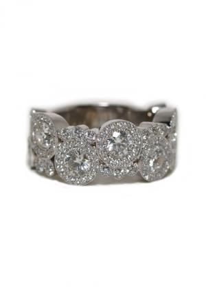 Rahaminov 2.57ctw Diamond Bubble Ring | Oster Jewelers, Denver Colorado