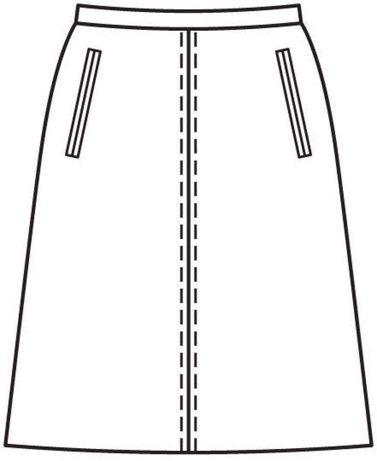 Юбка: Burda 11/ 2012/ 124 / Burdastyle