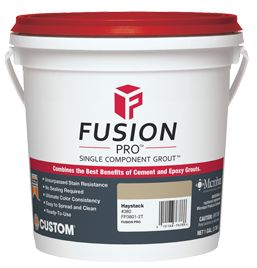 Custom Grout - Fusion Pro® Grout Single Component® Grouting Tile