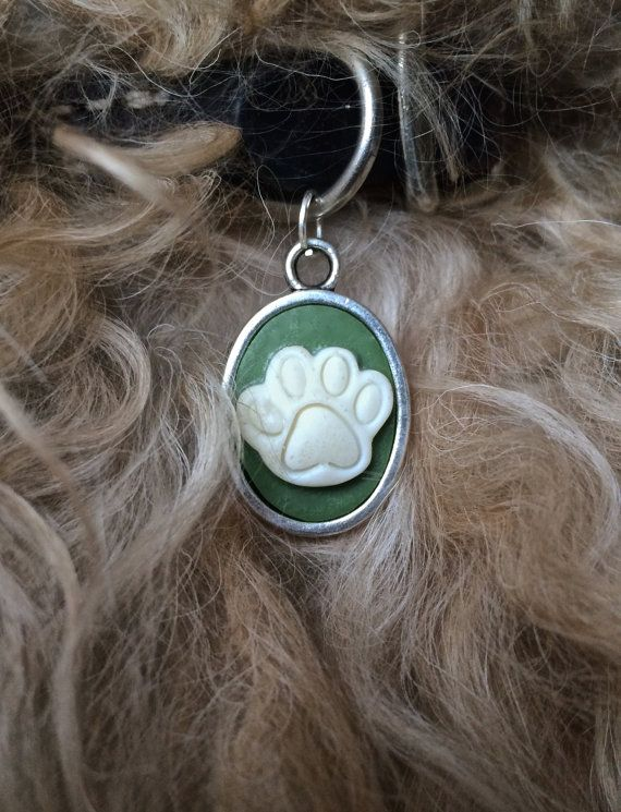 Paw Pendant/charm for your dog by FairyJaneDesign on Etsy