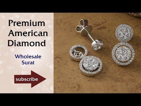 Latest Earrings Designs Premium Jewellery Wholesale in Surat