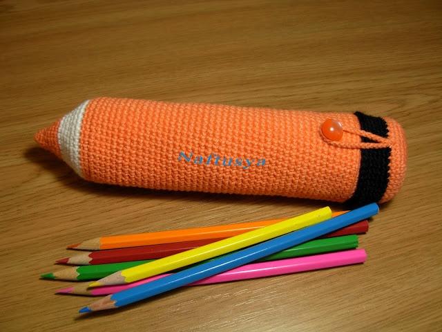 Amigurumi Bunny Pencil Holder : Fantastiche immagini su amigurumi pencil case
