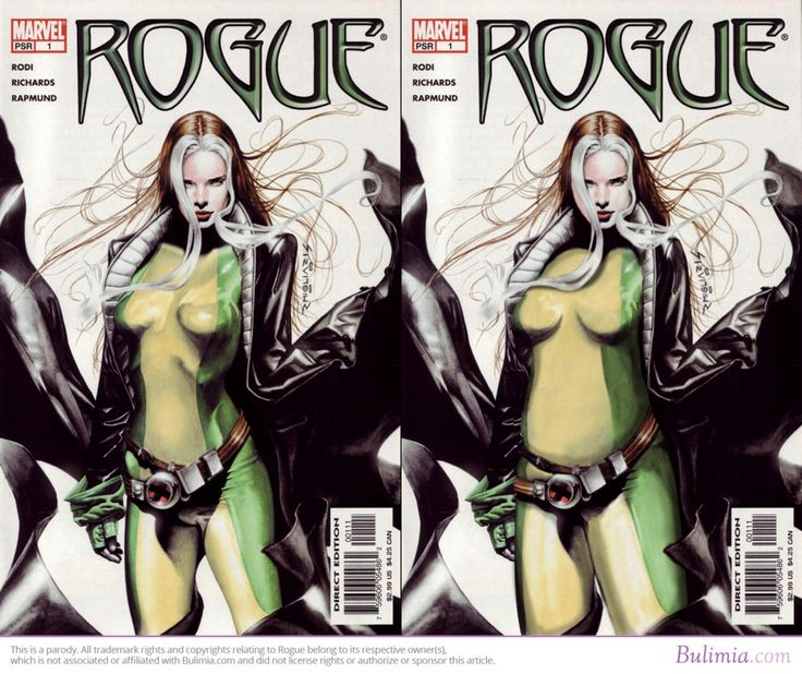 Rogue | Comic Book Heroes With Average Body Types