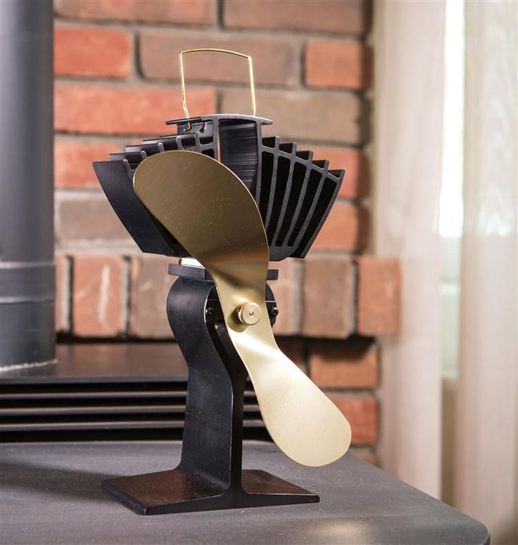 Small Quiet Electric Fans For Wood Stove Blowers : Best ideas about wood burning stove fan on pinterest